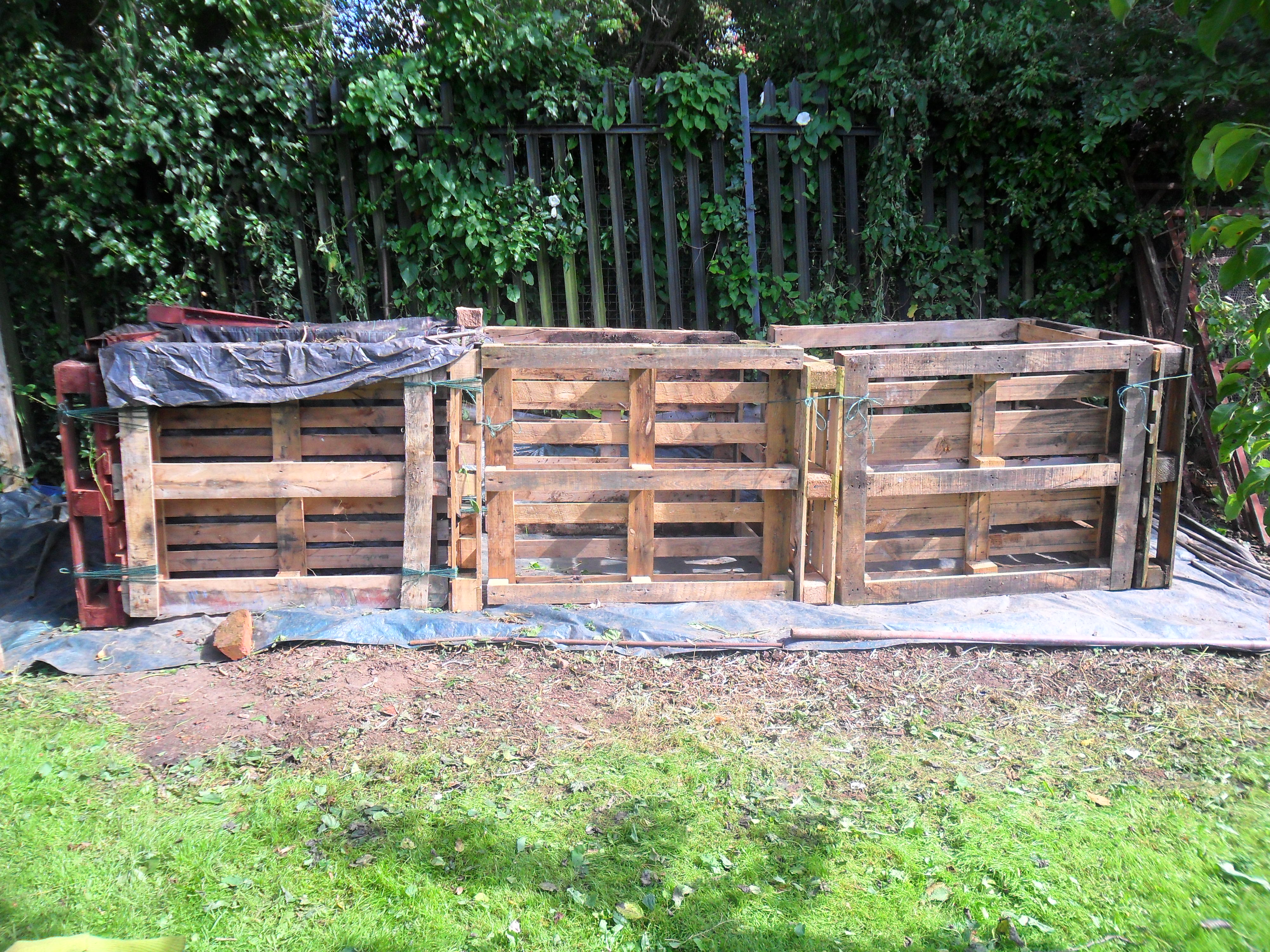 Uses for pallets on an allotment | not just greenfingers