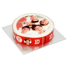 Plastic Christmas Cake Decorations Tesco : One Direction Cake not just greenfingers