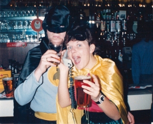 Helen as 'Robin' at my 21st Birthday
