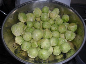 My brussel sprouts