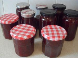 My homemade strawberry jam