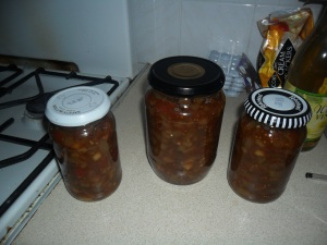 Courgette Chutney