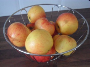 The last of my stored apples