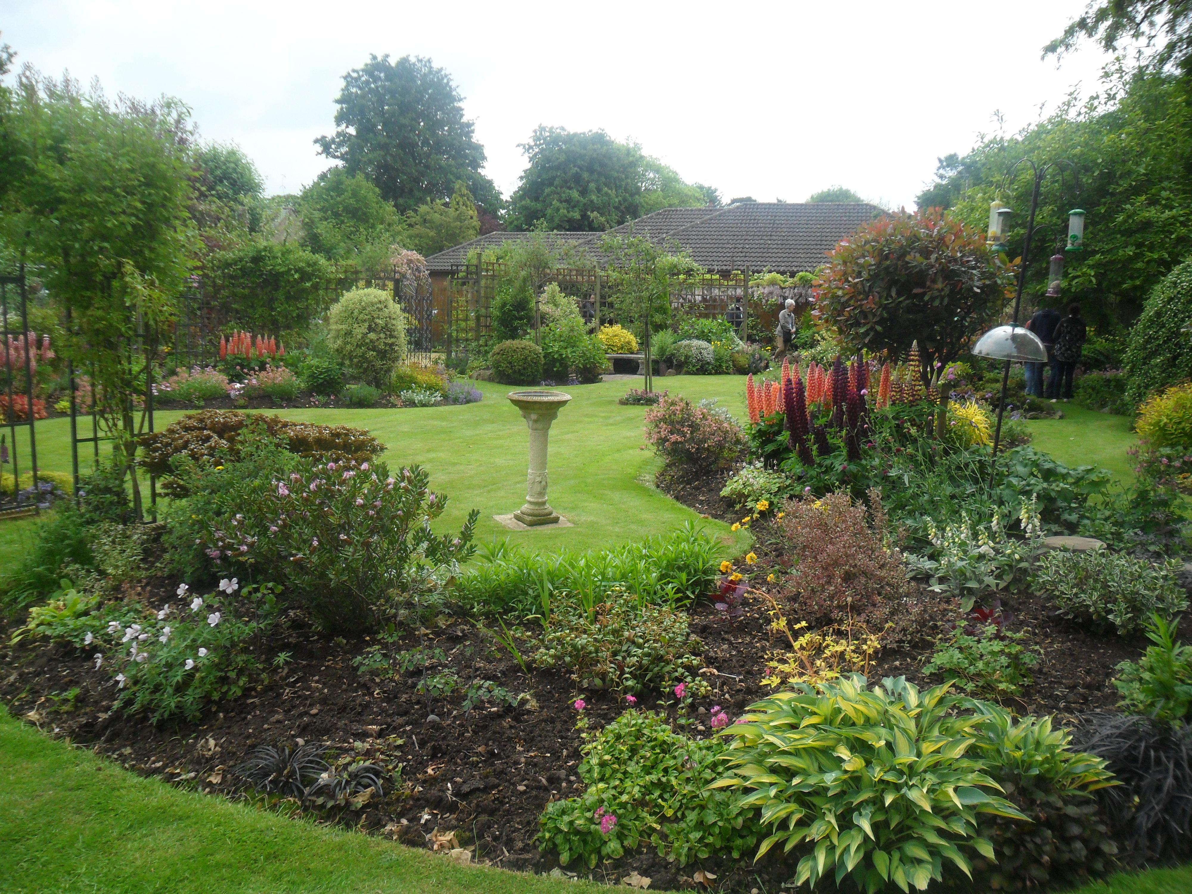 But one back garden showed how you can make a small garden beautiful: